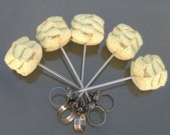 Pele Universal Removable Fire Wicks - hula hoop