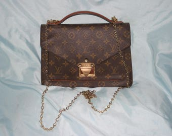 Summer sale see shop for codes Louis Vuitton Vintage old style Beverly MM Handbg / Cross Body Monogram LV