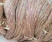 Confetti Alpaca yarn with Tencel and Pulled Silk