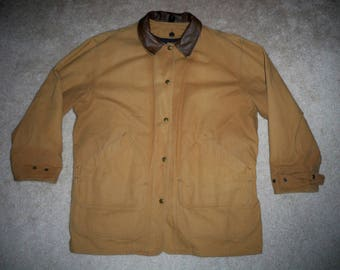 Ll Bean Field Coat Rustic Barn Chore Hunting Fishing