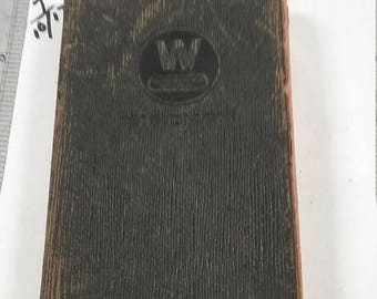 10% OFF 3 day sale Vintage  westinghouse diary 1916