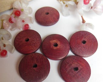 set of 6 dishes Fuchsia wooden pallets