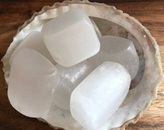 Selenite Healing Stone, Clarity, Angelic, Higher Guidance, Calming, Deep peace, Spiritual Stone, Meditation, Crown Chakra Stone