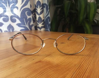 Vintage  retro silver glasses