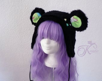 Teddy hat (green)