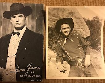 Gene Autrey/James Garner/Bronco Bill/Doublemint Cowboy paper and picture lot