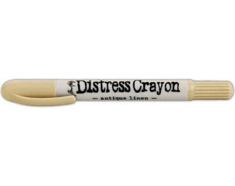 Distress Crayon ANTIQUE LINEN by Tim Holtz TDB49647 1.c005