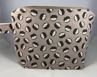 Hedgehog Project Bag- sock