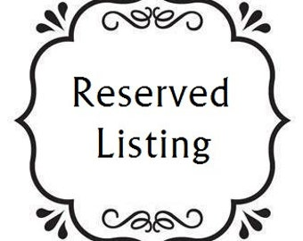 Reserved Listing for Tammy - by Stone Creek Wall Decals