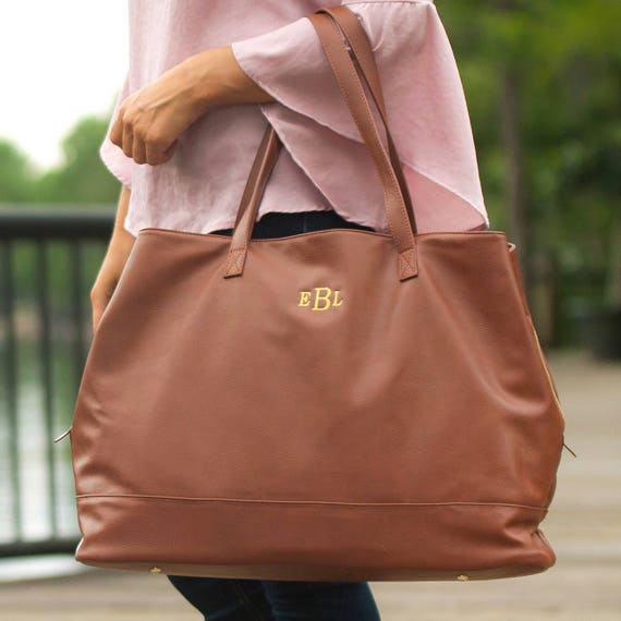 camel cambridge travel bag weekender bag luggage travel monogrammed vegan leather bag monogrammed gift luggage handbag purse wristlet