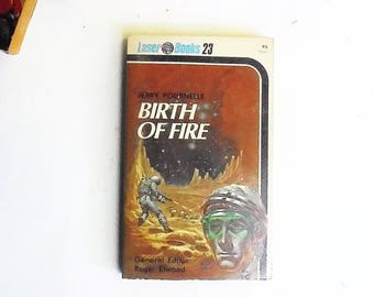 Birth of Fire by Jerry Pournelle (1976, Laser Books) Vintage Science Fiction Paperback
