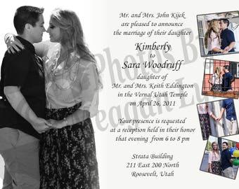 Full of Love Wedding Invitation *DIGITAL*