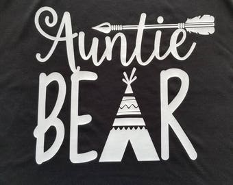 Auntie Bear shirt
