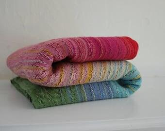 4.6m 100% Egyptian Cotton Babywrap- Charcoal gray weft