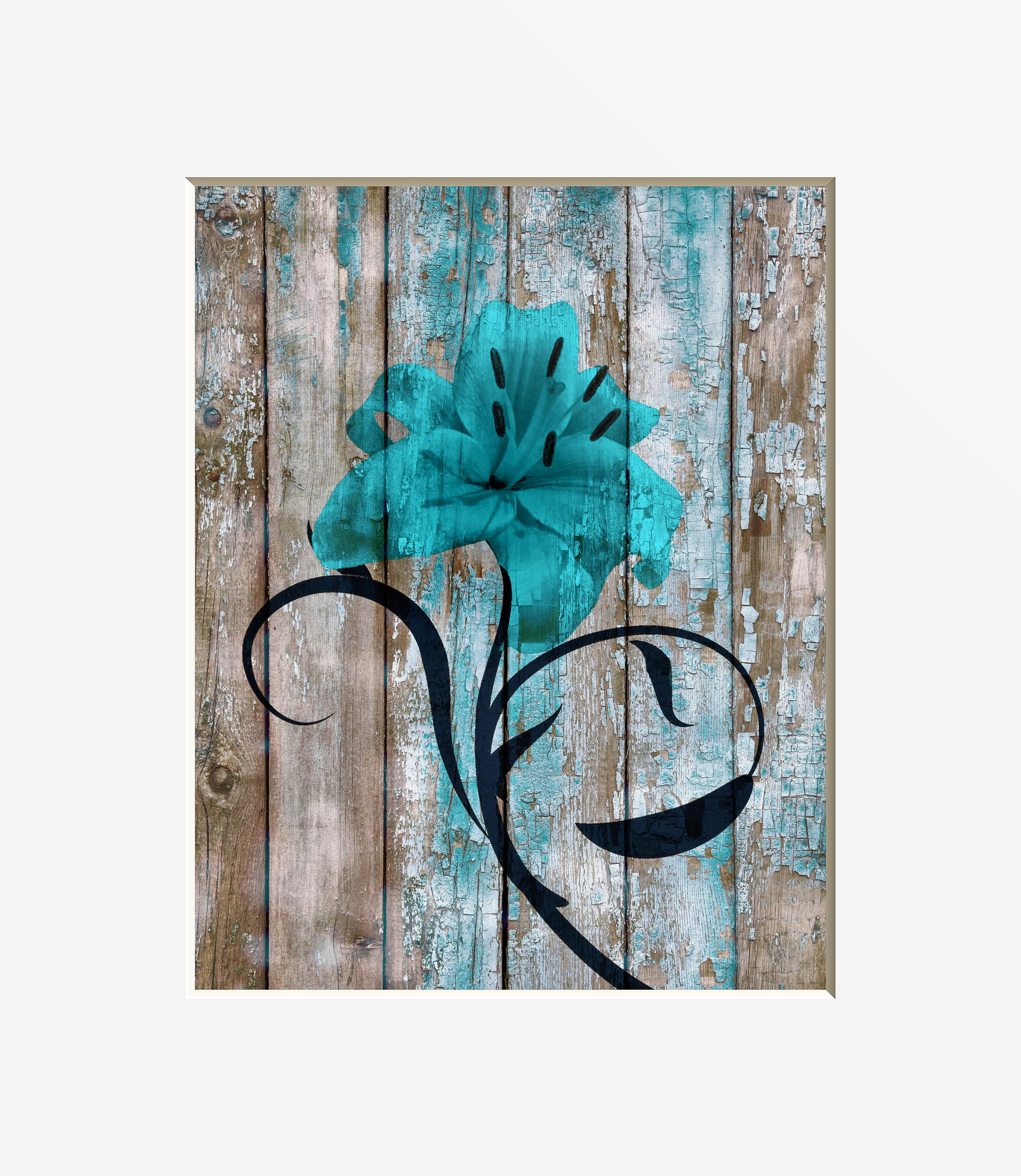 Teal brown rustic decor farmhouse theme brown teal rustic for Teal and brown bathroom decor