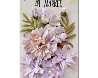 49 & Market Shimmer and Shine Lilac Flowers 85304