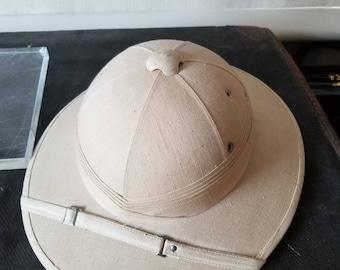 Original 1930s Hanoi Pith Helmet