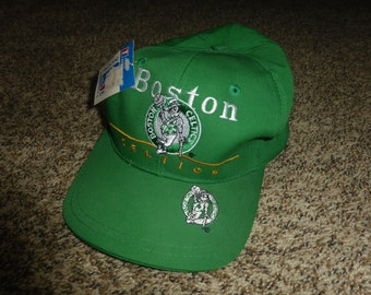 Vtg New NWT Boston Celtics NBA Twins Snapback Cap Hat