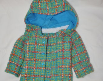 Plaid jacket for American Girl doll