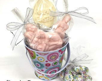 X-Rated Adult Easter Basket with Chocolate Erotic Couples, Adult Chocolates