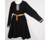 Sz 2X-3X Medieval SCA, LARP Wool Blend Norman, Saxon, or Viking Tunic