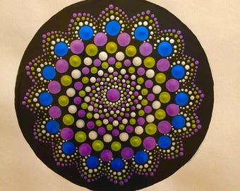 """Mandala """"Metallic Spiral"""""""