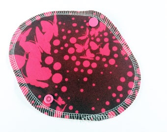 Lucy & Mabs Cotton Bamboo Wrap Style Reusable Pantyliner/ Tula Pink