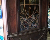 Antique China Cabinet Ready to Custom Paint for Reneé