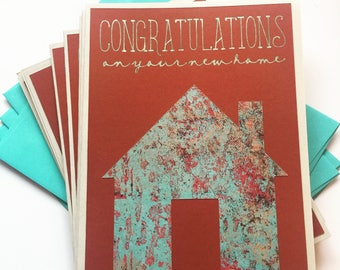 Congratulations On Your New Home Realtor Cards