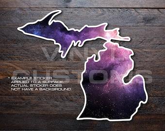 Michigan Mitten Vinyl Decal Sticker A43