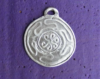 Hekate's Wheel, Sterling Silver Pendant, Hekate, Hecate, Strophalos, Spiritual, Wicca, Wiccan, Witch, Pagan, by the Green Man