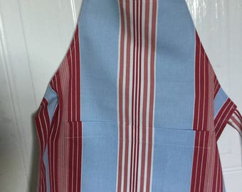 Kid's apron chef blue and pink by CandaceJaneDesigns