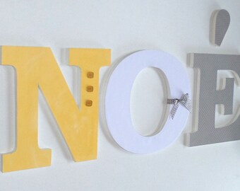 Noah - Wooden - name letters