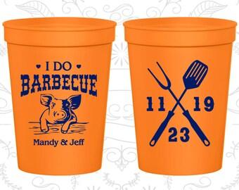 Orange Stadium Cups, Orange Cups, Orange Party Cups, Orange Wedding Cups (46)