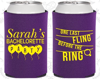 One last fling before the ring, Bachelorette Can Cooler, Bachelorette Coolers (60140)
