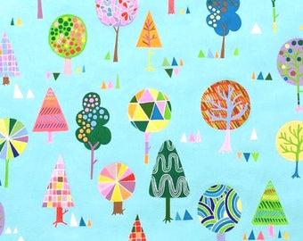 Alexander Henry - Magic Trees - #8479B -Blue