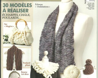 Catalog creation 30 knitting patterns No. 9 new home decorations and accessories
