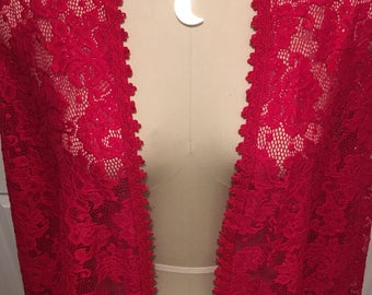 "Stevie Nicks inspired ""Sara"" shawl cape clothing"