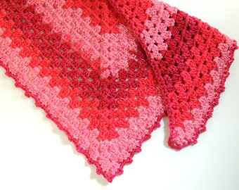 Candy Corner Scarf - Triangle Scarf - Various Color Options - Made-to-Order