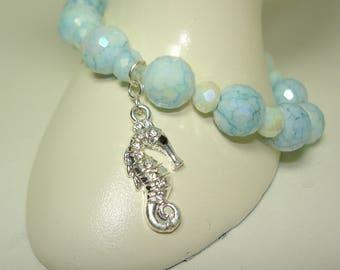 Sea Horse Charm Bracelet