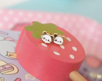 Panda earrings, design by Chic Kawaii, super cute
