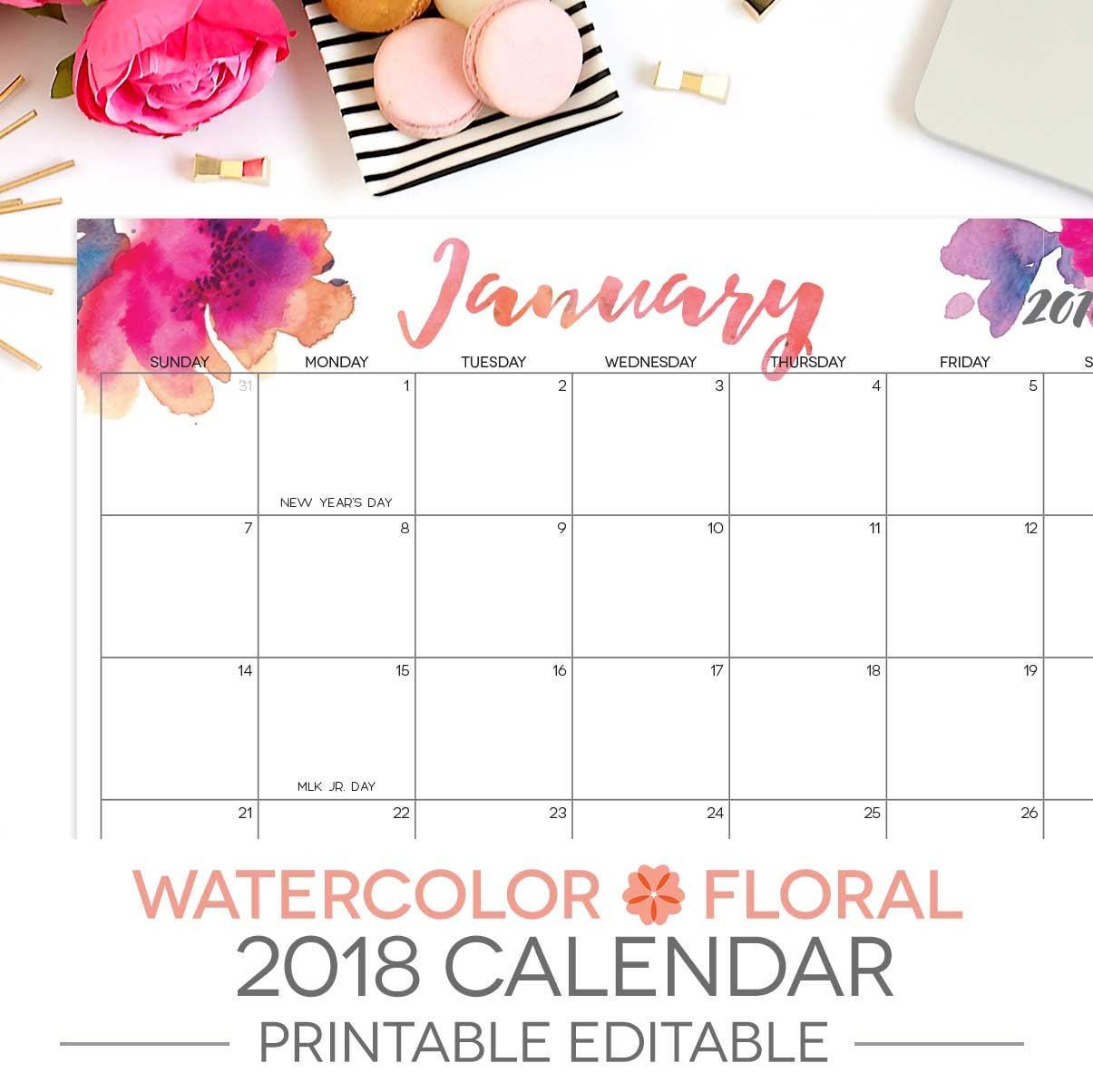 Editable Calendar View : Printable calendar editable month letter size