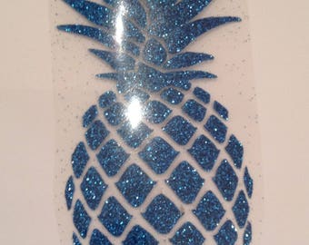 Pattern fusible blue pineapple...