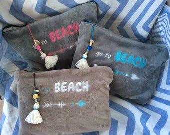 Bamboo Beach clutch - Pochette Doudou plage