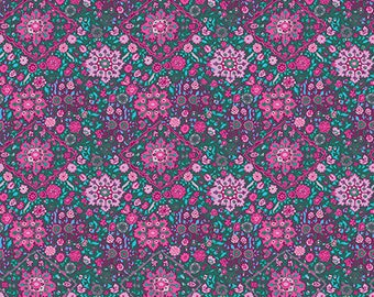 Kaliedescope in Violet by Amy Butler from the Soul Mate collection for Free Spirit #CPAB003.8Viol by 1/2 yard