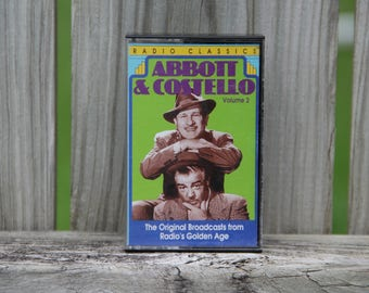 Abbot & Costello Volume 2 Vintage Cassette Tape