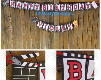 MOVIE THEATER RED CARPEt Snack Bar Theatre banner Snack Bar