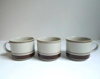 Vintage Arabia Coffee Cups, Arabia, Finland, Pirtti, Danish Modern, Coffee Cups, Mid Century Modern, Raija Uosikkinen