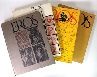 Eros Magazine Full Collection of Four Books Vintage 1962