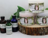 Frankincense Neroli Moroccan Red Clay and Coordinating Facial Serum